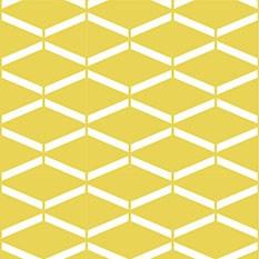 Géométrique 01 Jaune